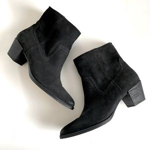 Dolce Vita Ankle Suede Leather Booties